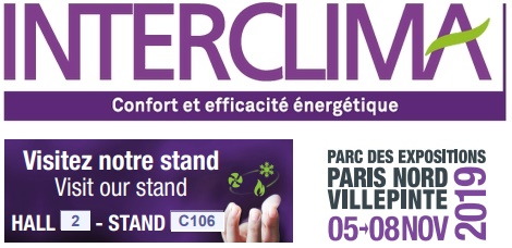 Participation in the Interclima fair in Paris