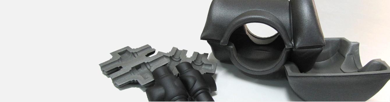 Piezas moldeadas en 3D